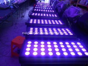 60*4W/36*10W RGBW 4in1 Multi-Color LED LED Wall Washer Light /LED Flood Light Waterproof IP 65 pictures & photos