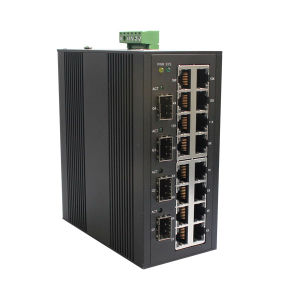 100m Fast 16 Port Industrial Optical Fiber Network Switch pictures & photos