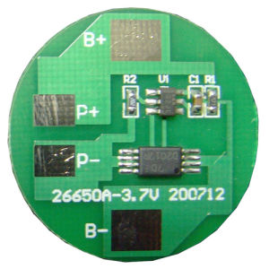 3.2V LiFePO4 1s Battery PCM/BMS for 26650 Battery pictures & photos