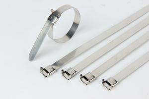 Ball-Lock Stainless Steel Cable Ties pictures & photos