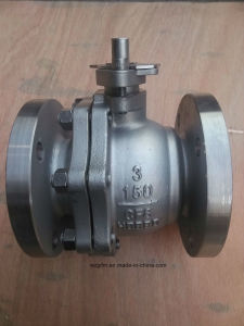 API SS304/SS316 Flanged Ball Valve with Handlwheel pictures & photos