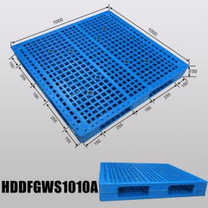 1010 New Designed Recycled Reversible Vented Plastic Pallet pictures & photos