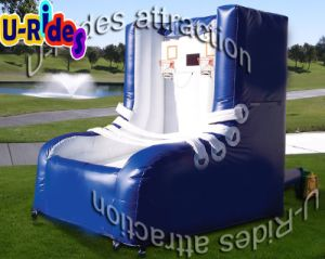 Factory directly price Basketball pitch inflatable Basketball Shot for Team building pictures & photos
