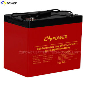 Supplier Free Maintenance Gel Battery for Solar, Htl12-85ah pictures & photos