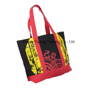 Customized Promotional Organic Tote Cotton Bag (CBG032) pictures & photos