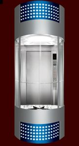Machine Roomless Sightseeing Elevators with Full Glass Cabin Wall pictures & photos