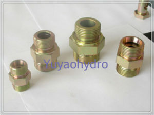 DIN Straight Fitting Bite Type Tube Fittings pictures & photos