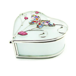 Wholesale Custom Glass Jewelry Boxes China Supplier (Hx-6403) pictures & photos