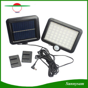 180lm 56PCS 2835SMD White LED Solar Power Motion Sensor Detection Waterproof Outdoor Garden Lights Security Lamp Wall Light for Barn Porch Garage pictures & photos