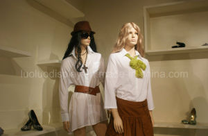 Pretty Female Dress Form Mannequins for Store Dress Display pictures & photos
