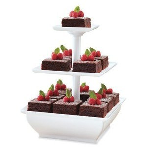 Nack Server 3-Tower Tiered Stand for Cakes pictures & photos