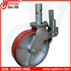 Supplier High Quality Scaffold Caster with 8 Inch TPU Wheel pictures & photos