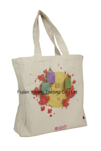 Customized Promotional Organic Tote Cotton Bag (CBG031) pictures & photos