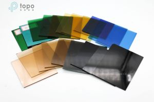Less Than 2mm Colorful Thin Sheet Glass / Float Glass (S-T) pictures & photos
