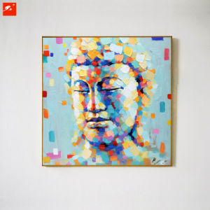 Asian Budda Portrait Handmade Oil Painting pictures & photos