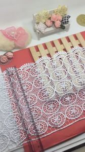 New Design Shape 20.5cm Width Embroidery Trimming Nyron Lace for Garments & Home Textiles & Curtains pictures & photos
