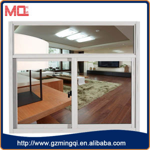 Aluminium Frame Slide Window with White Color pictures & photos