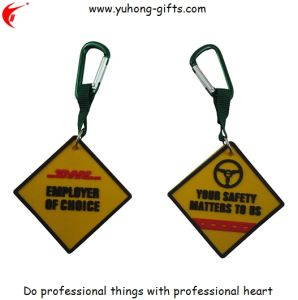 PVC Label with Carabiner Hook (YH-PP011) pictures & photos