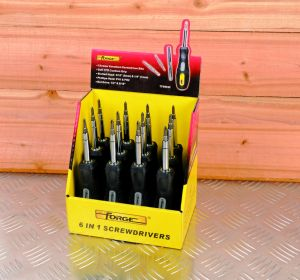 6 in 1 OEM Hand Tools Cr-V Screwdriver Bits with Soft TPR Grip pictures & photos