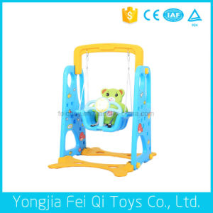 Indoor Playground Gift Toy Bear Plastic Multifunctional Swing for Kids pictures & photos