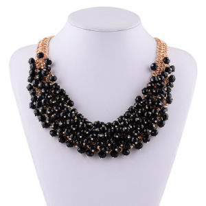 Fashion Multi Layer Crystal Statement Choker Necklace Jewelry pictures & photos