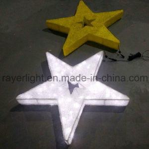 Unique Christmas Ornaments LED Standing Star Decoration Light pictures & photos