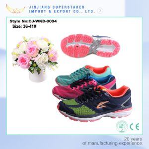 Light and Soft Running Shoe, Women Size Sport Shoe Sneaker pictures & photos