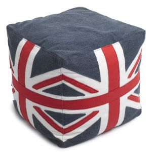 Square Pouf Ottoman for Fashion Design Stool in Living Room with High Density Polyester Nylon Zipper pictures & photos