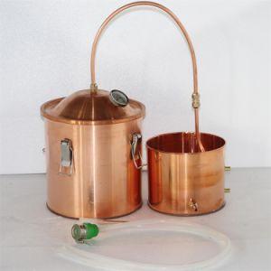 10L 3gallon Copper Distiller Wine Distillation Equipment in Home pictures & photos