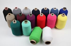 Factory Supply Polyester Spandex Covered Yarn