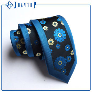 Customize High Quality Polyester Tie Flowers Necktie pictures & photos