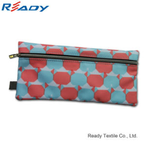 Hot Sale 230d Polyester Zipper Pen Pouch for Stationery pictures & photos