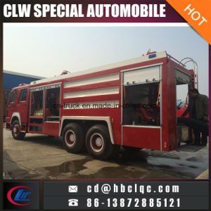 Heavy Duty HOWO Right Hand Drive Fire Truck Emergency Rescue Truck pictures & photos
