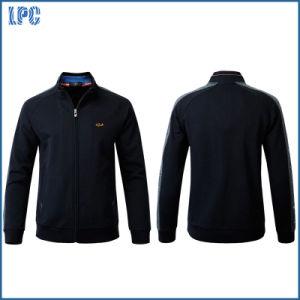 Fashion Zipper Fleece Jacket for Men pictures & photos
