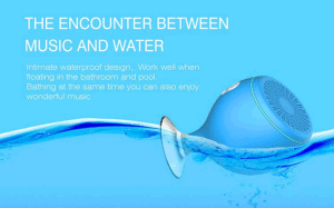 Hot New Ipx6 Waterproof Wireless Bluetooth Speaker with Sucker, Phone Holder for Gift pictures & photos