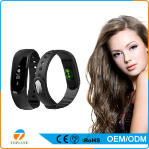 New Top Bluetooth Pedometer Smart Wristband Heart Rate Monitor pictures & photos