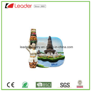Customized Polyresin 3D Refrigerator Magnets for Home and Souvenir Decoration pictures & photos