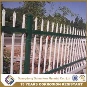 Galvanized Picket Weld Fence / Ornamental Iron Steel / Metal Picket Fence pictures & photos