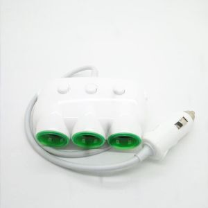 12V-24V 3-Socket Car Cigarette Lighter Adapter with Dual USB Interfaced pictures & photos