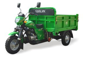 150cc/200cc/250cc Water/Air Cooled Strong Rear Axle Heavy Load Tricycle (SL200ZH-G) pictures & photos