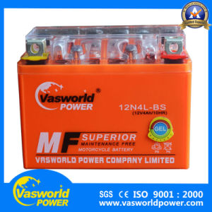 The Cheapest Price Motorcycle Battery 12V 4ah From Chinese Manufacturer pictures & photos