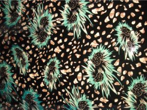 Silk Velvet Burn out Fabric pictures & photos