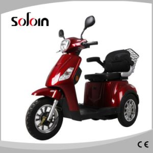 Ce Approved PU Seat 3 Wheel Electric Mobility Scooter (SZE500S-5) pictures & photos