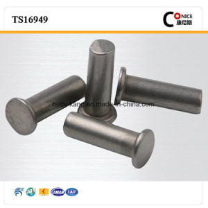 China Supplier CNC Machining Rivets with Plating Nickle pictures & photos