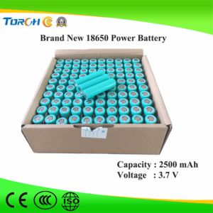 China High Quality 18650 3.7V 2500mAh Rechargeable Li-ion Battery for Electronic Products pictures & photos