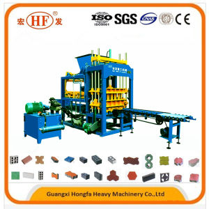 Qt5-15 Concrete Hollow Paver Block Making Machine in Construction Machinery pictures & photos