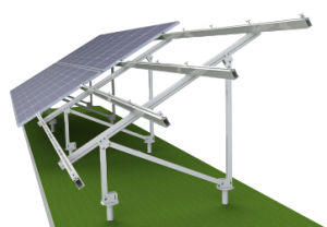 Strong Intensity Ground Solar Mounting System with Screw Pile pictures & photos