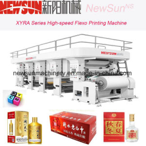 Xyra-850 High-Speed Wine Package Flexo Line Printing Machine pictures & photos