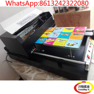 High Speed Flatbed UV Printer with 600mm Printing