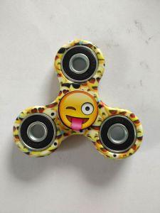 Smile Face Hand Spinner Tri Fidget Finger Fingertip Gyro Toys pictures & photos